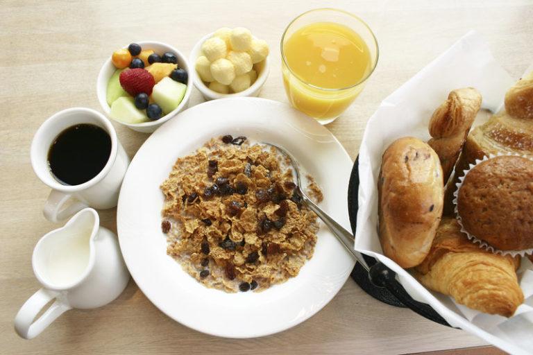 Сахар в злаках для завтрака