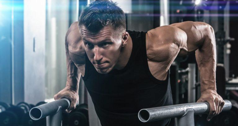 работа на мышцы груди и трицепсы