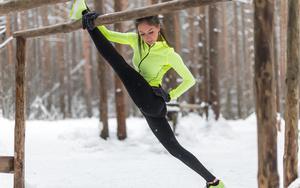 Спорт на улице зимой