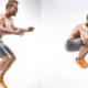 Прыжки с подтягиванием коленей к груди