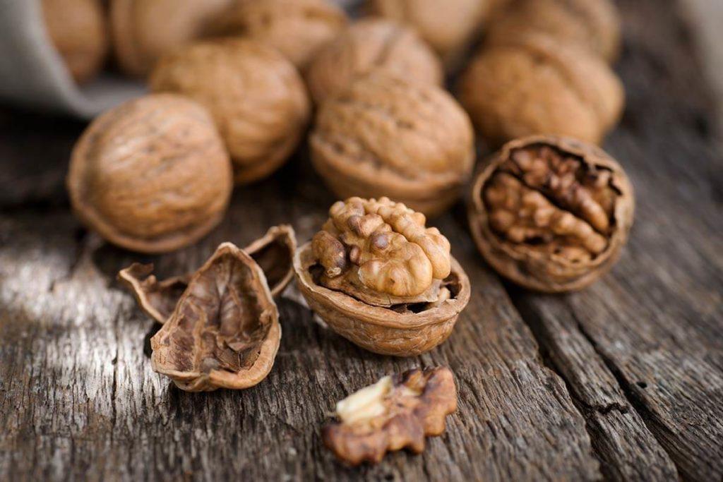 Грецкие орехи от стресса