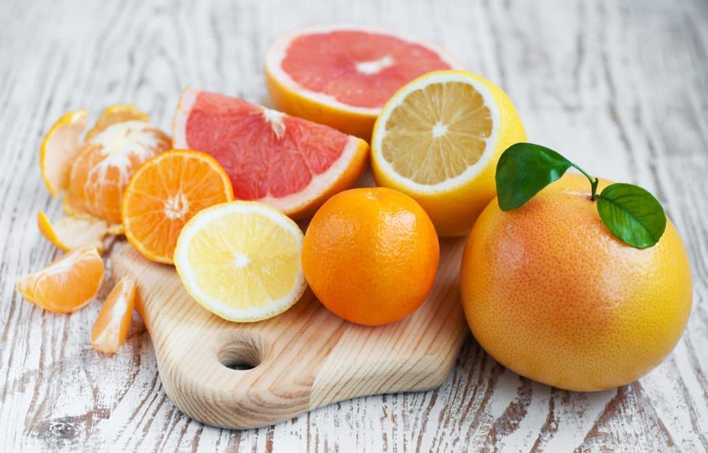 Цитрусовые фрукты от стресса