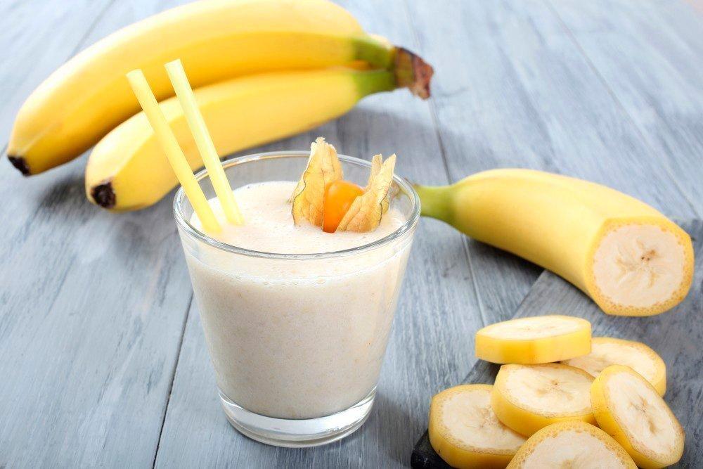 Бананово-молочный смузи при стрессе