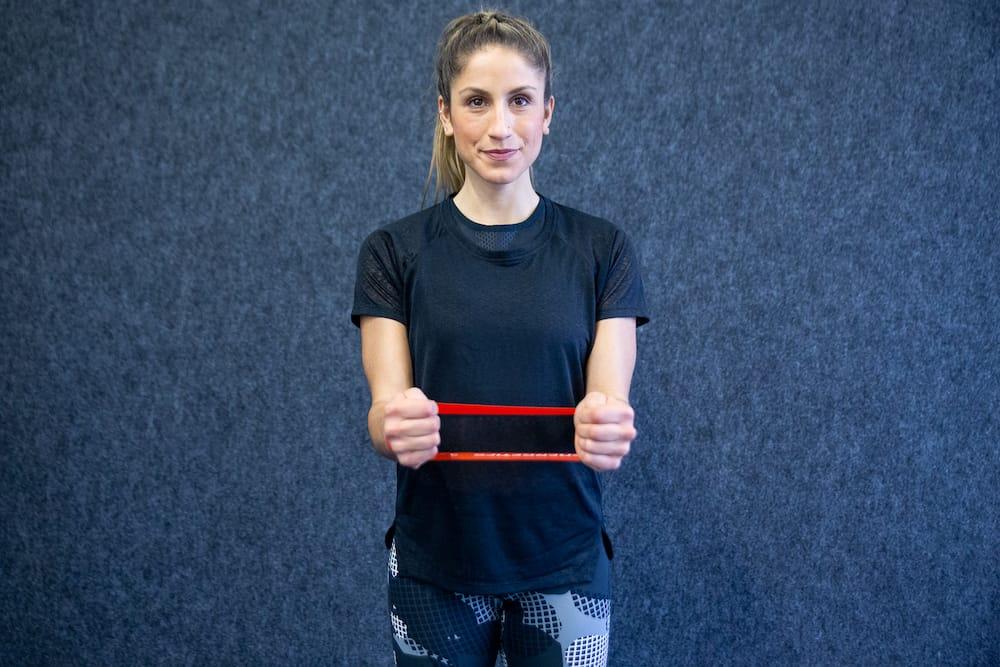 Наружное вращение плеча