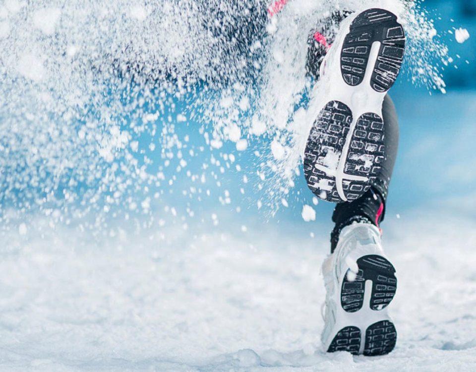 Бег на морозе